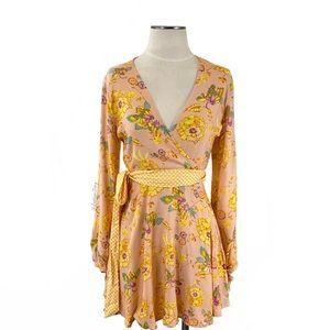 Tularosa- Fran Mini Dress in Garden Floral Size S